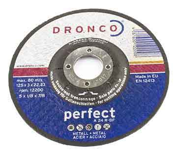 Dronco perfect cutting disc A 24 R 125 x 3 x 22 mm