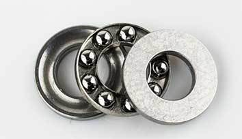 Thrust ball bearing F10-18M 10 x 18 x 5,5 mm