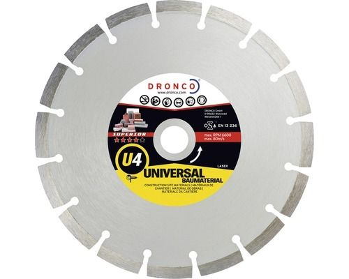 Diamond cutting disc Superior U4 Ø 125x2,2x22,23mm