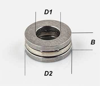 10 x 18 x 5,5  mm Drucklager F10-18M Axial Kugellager 6 Axiallager